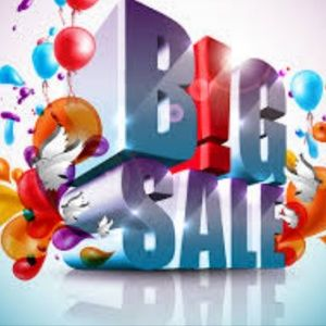 Having a huge sale
